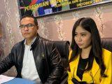 Selebgram Ayu Thalia saat jumpa pers di Darmawangsa, Jakarta Selatan, Rabu (1/9/2021) (Sumber: Istimewa).
