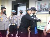 Oknum Polisi NP dan Mahasiswa MFA (Sumber: Instagram/@polreskotatangerang).